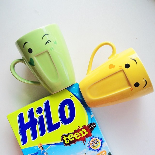 Mug HiLo Teen edisi emoticon